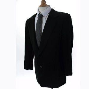 Ermenegildo Zegna Suits & Blazers - ERMENEGILDO ZEGNA BLAZER BLACK PINSTRIPE SIZE 40